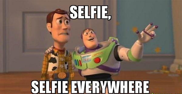 Selfie-Selfie-Everywhere
