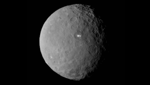 lights on Ceres