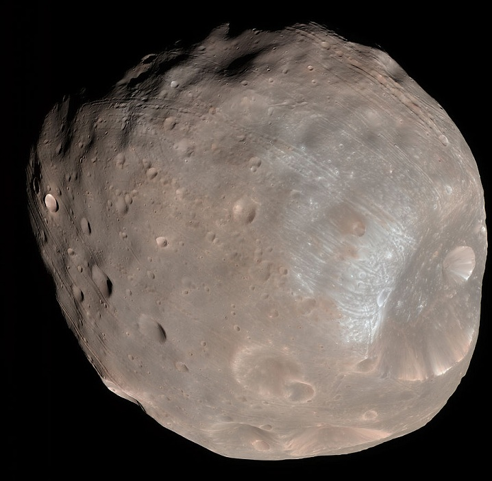 Phobos from the Mars Reconnaissance Orbiter