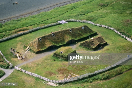 TLanse aux meadows, a historic viking settlement, newfoundland, Canada.