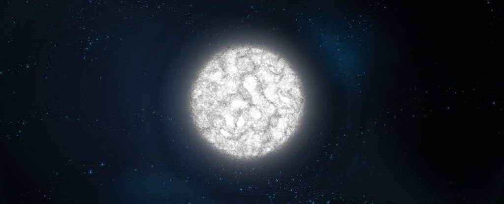 Artist's impression of a white dwarf. Photo credits: Sciencepics/ Shutterstock.com.
