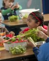 Kids Who Eat Healthy Are Happier